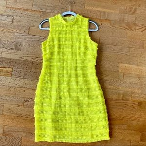 LIKE NEW! J Crew yellow work or party dress! (4)